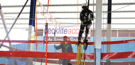 Decklite Kit Configurations - Access Via Rope