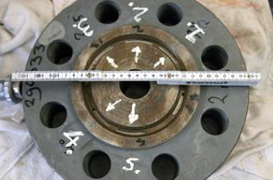 Verkade NDT services and Services - Cracks in Ring-Joint Flanges Inspection